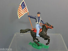 "VINTAGE CHERILEA MODEL No.xxx "" WILD WEST  MOUNTED US CAVALRY STANDARD BEARER"