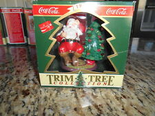"""Coca Cola Trim-A-Tree Collection """"It Will Refresh Yoo Too!"""""""