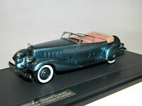 Matrix, 1933 Chrysler Imperial Custom Five-Passenger Phaeton, blau metallic,1/43