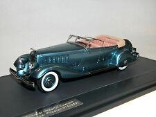 Matrice, 1933 CHRYSLER IMPERIAL Custom Five-Passenger Phaéton, bleu métallisé, 1/43