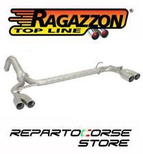 RAGAZZON SCARICO GR.N SDOPPIATO TERMINALI ROTONDI 500 / 595 ABARTH 1.4TJET 135CV
