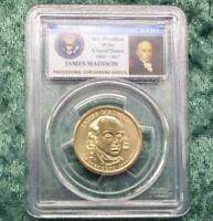 2007 PCGS Brilliant Uncirculated James Madison Position B Presidential Dollar
