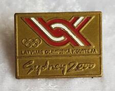 NOC LATVIA SYDNEY 2000 OLYMPIC GAMES PIN - LATVIJAS OLYMPIC GAMES PIN