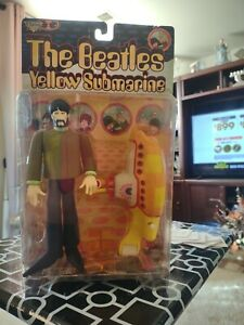1999 George Harrison With Yellow Submarine figure The Beatles McFarlane Toys