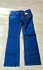 VERY BOOTCUT BLUE JEANS  SIZE 8 HIGH RISE PETITE SHORT LEG BNWT