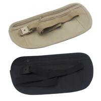 Travel Money Belt Hidden Waist Security Wallet Bag Passport Pouch RFID Holder wj
