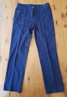 BLUE ILLUSION Navy Stretch Drill Pants Size M