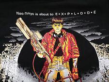 1992 AKIRA KANEDA BLACK T SHIRT XL VINTAGE ANIME  NEO TOKYO VINTAGE ORIGINAL