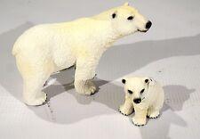 New Schleich Polar Bear Family Includes: Adult Polar Bear # 14659 Cubs # 14660