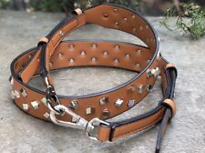 Crossbody Strap You Leather Stud Strap Removable For Bag Purses Silver Clip