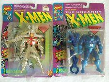 2 ToyBiz Marvel X-Men Apocalypse 2nd Edition Silver Samurai Action Figures Nip
