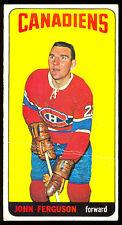 1964 65 TOPPS TALL BOYS HOCKEY #4 JOHN FERGUSON VG-EX MONTREAL CANADIENS CARD