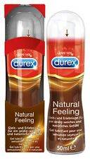 LUBRIFICANTE INTIMO DUREX PLAY NATURAL FEELING 50 ML BASE SILICONE INS. ANONIMA
