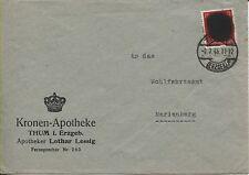 Locale/sächs. annerimento lettera Thum AP 827 i fabbisogni super bello (b06381)