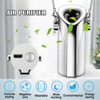 Personal Air Purifier Necklace Portable Air Freshener