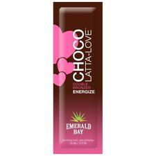 Emerald Bay Choco-Latta-Love double bronzer Sunbed Tanning Cream 15ml sachet