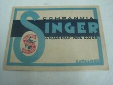 Singer's catalog sewing machines