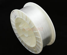 PMMA fiber opticr cable 1mm/1500m clear end-glow type light transmit line