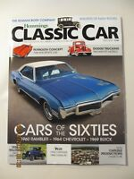 4 Hemmings Classic Car magazines - July 2018+ June 2018 + May 2018 + April 2018