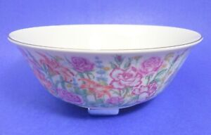 """Lenox 9"""" Flower Blossom Bowl Suzanne Clee Tulip Rose Iris Lily Pansy Violet more"""