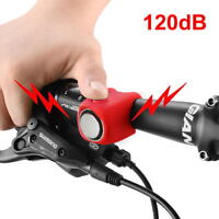 120dB Cycling Bike Electric Bells Horn Silicone Shell MTB Bicycle Handlebar Bell