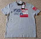 New! Under Armour Boys Youth Extra Small Patriotic T-shirt USA Stars & Stripes