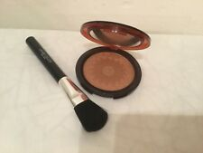 Laura Geller Baked Mediterranean Matte Bronzer with Brush - desert sands