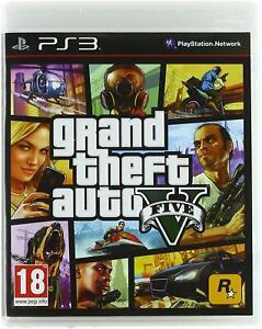 GTA 5 (PS3) - Grand Theft Auto V - PRISTINE - Super FAST & QUICK Delivery FREE!!