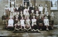 "PRINT 10"" X 7""  TADLEY SCHOOL GROUP PHOTO c1947 HAMPSHIRE"
