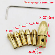 Mini Drill Collet Set 0.5-3.0mm Fit For Micro Twist Electronic Drill Chuck 40g