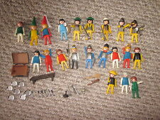 Classic Vintage Caballeros Playmobil músicos, 21 figuras con accesorios.