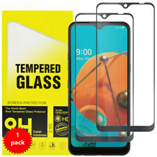 For LG Premier Pro Plus Full Coverage Tempered Glass Screen Protector
