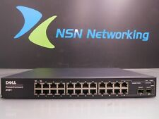 Dell PowerConnect 2824 F491K 24-Port Gigabit Managed Switch NO RACK EARS