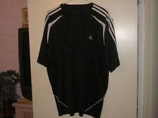 Men's Adidas Black & White Activewear Shirt (Xl)