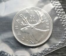 *** CANADA  25  CENTS  1970 ***  SEALED  PROOF  LIKE  *** BETTER  DATE  ***