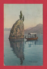 1913 BELLAGIO LAKE COMO ITALY VINTAGE OLD POSTCARD BY BRUNNER & C ZURICH