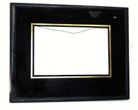 ART WORKS FRAME DECO REVERSE GLASS PAINTING GOLD WOOD IMAGE OR MIRROR WALL HANG