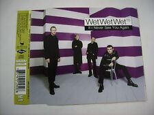 WET WET WET - IF I NEVER SEE YOU AGAIN - CD SINGLE 1997 EXCELLENT - 3 TRACKS
