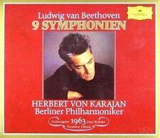 9 Symphonies Beethoven Herbert Von Karajan CD Copy