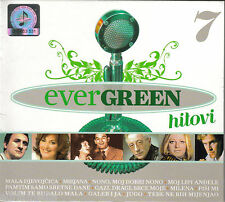 EVERGREEN 7 hitovi CD Zdenka Vuckovic Ivo MILAN Frano Gabi Giuliano Marijan Ban