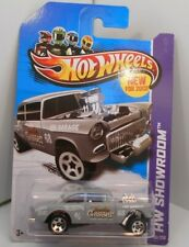 Hot Wheels * Showroom * 55 Chevy Bel Air Gasser  GRAY  GHTF  HD2