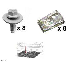 Unterfahrschutz Einbausatz Unterbodenschutz CLIPS Renault Scenic I,II, 90215