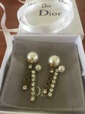 Gold Aged Tone Antique Earrings