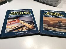 2 volumes Woodshop Companion - Routing & Shaping + Making Jigs & Fixtures