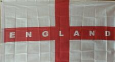 WORLD CUP ENGLAND ST GEORGE CROSS WHITE RED FLAG 152cm x 91cm FANS SUPPORT