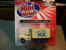 CLASSIC METAL WORKS MINI METALS HO SCALE FORD CITY ICE BOX TRUCK 1/87TH SCALE