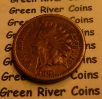1861  CN   Indian Head Penny Cent  Coin  #L61-2