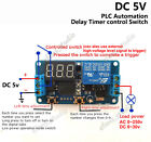 DC 5V 12V LED Display Delay Turn off/on Switch Timer Relay Module PLC Automation