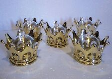36pcs Gold Crown/Dome, Decor Favor Box keepsake Baby shower, Wedding, Birthday