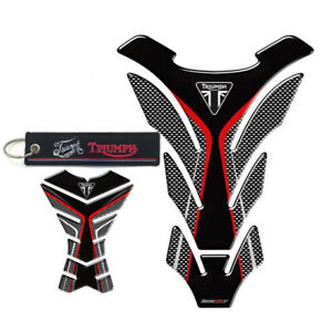 Tank Pad Tank Protector Sticker Decal For Triumph 675R Tiger 800 XC Speed Triple